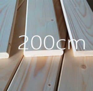 200 εκατοστά τάβλες κρεβατιού κατάλληλες για κρεβάτι ΙΚΕΑ και ΠΡΑΚΤΙΚΕΡ