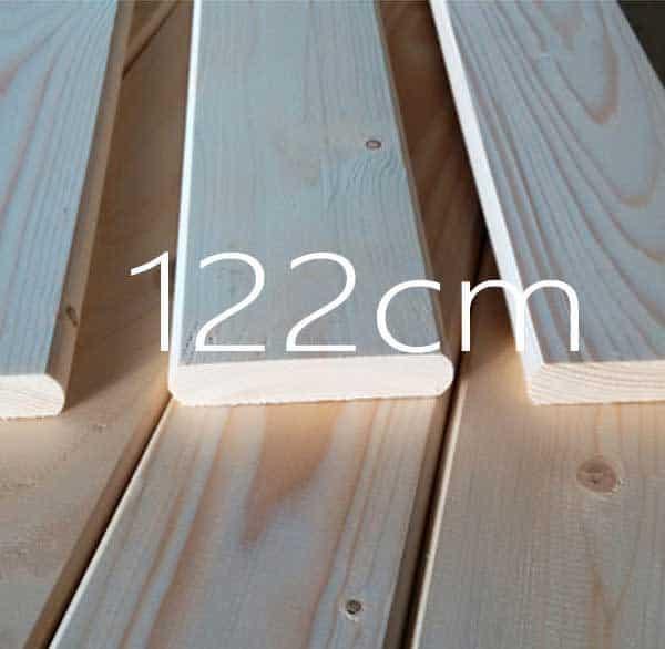 Ταβλα Κρεβατιου Ελατης 122cm